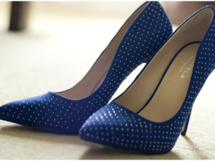 High end heels: Four staple stilettos for the festive period