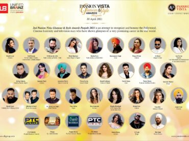 Passion Vista magazine organized Glamour & Style Awards Punjabi through Virtual Gala Celebration Honouring Artists from Film Fraternity