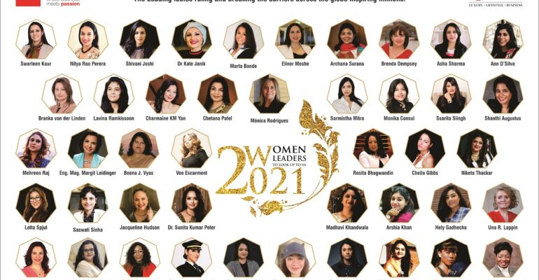 Unified Brainz celebrated the womanhood by featuring women from 19 countries under its special collector's edition 'Women Leaders to Look Up to in 2021'